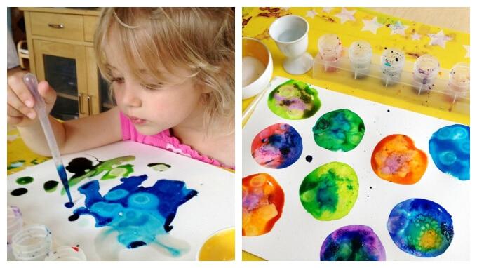 Painting Activities for Preschoolers :: 11 Favorites