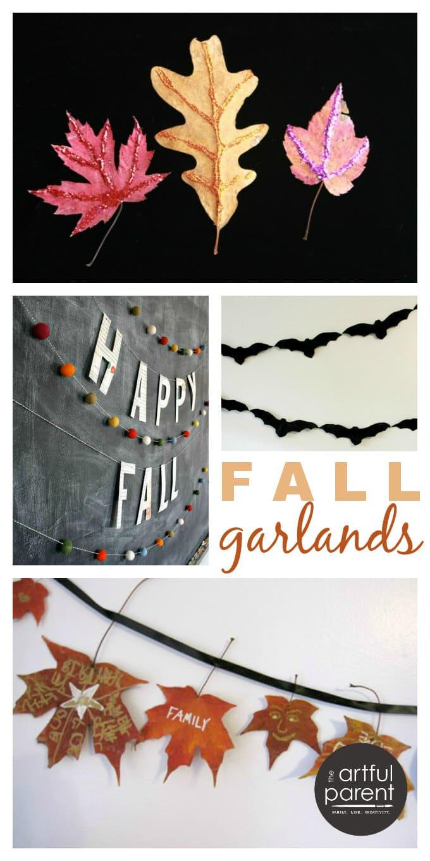 14 Diy Fall Garlands The Artful Parent