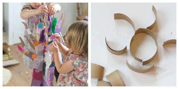 Cardboard Art Ideas for Kids