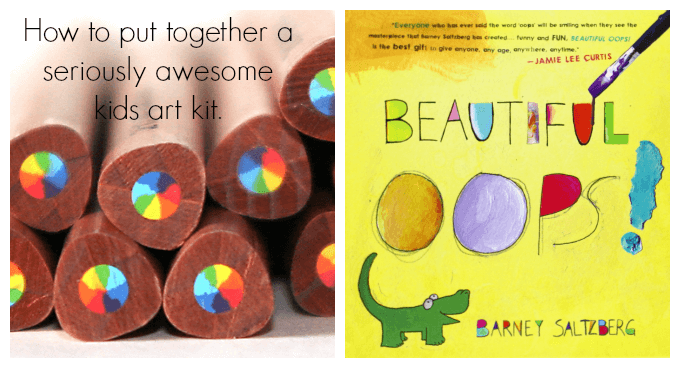 How to put together seriously awesome kids art kits as gifts