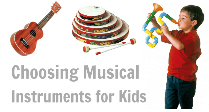 Choosing Musical Gifts for Kids