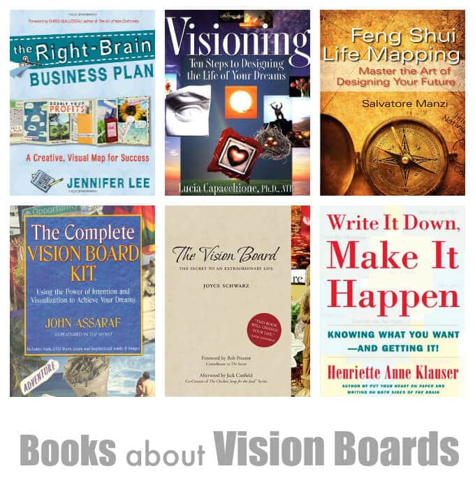 Helpful Vision Board Books and Resources