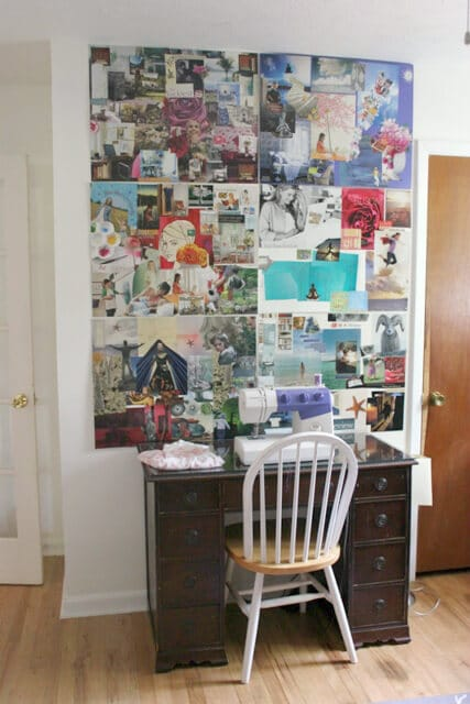 My Wall of Vision Boards