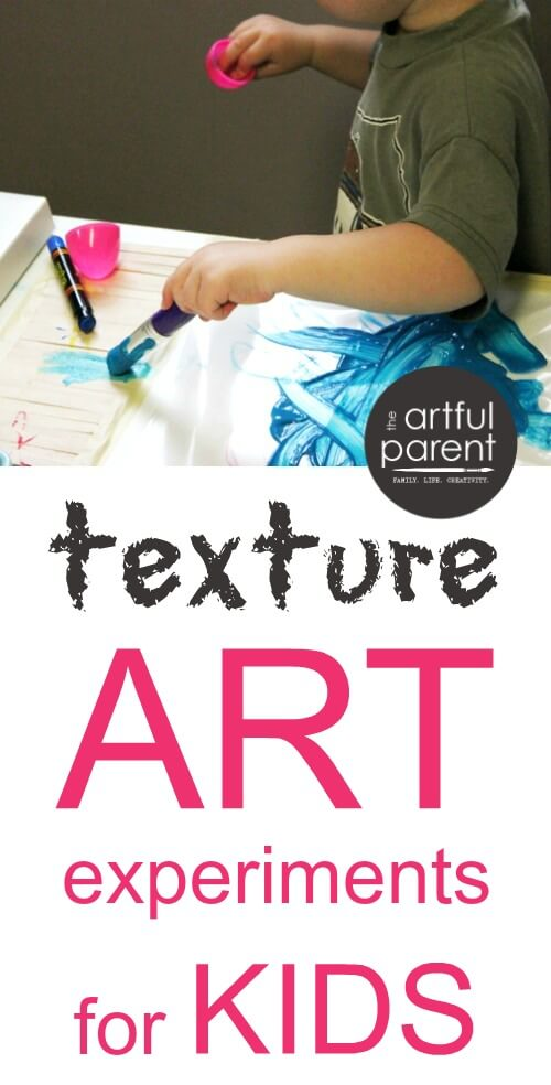Texture Art Projects For Kids Exploring Different Surfaces