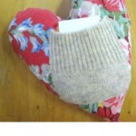 A Heart Pillow with A Pocket for Love Notes