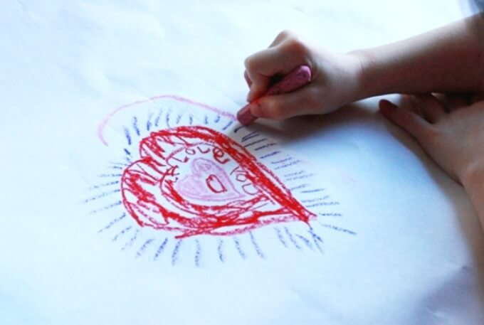 Valentines Day Art Activity for Kids and Families - Interactive Heart Mandalas