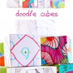 Doodle Cubes :: Art Activity for Kids