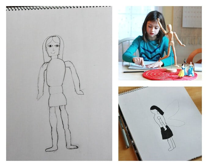 Drawing the Human Body for Kids
