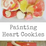 Painting Heart Cookies