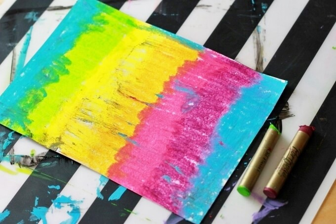 DIY Scratch Art Paper