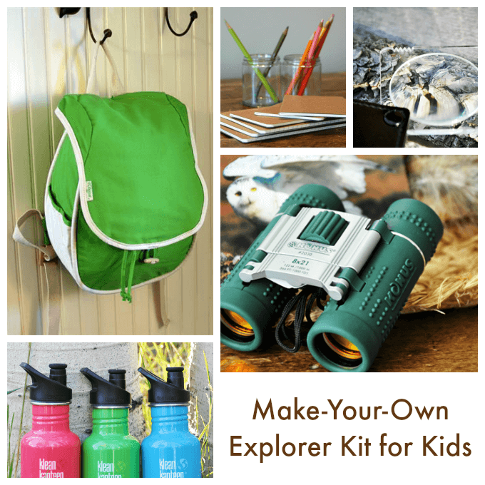 Make Your Own Explorer Kit for Kids