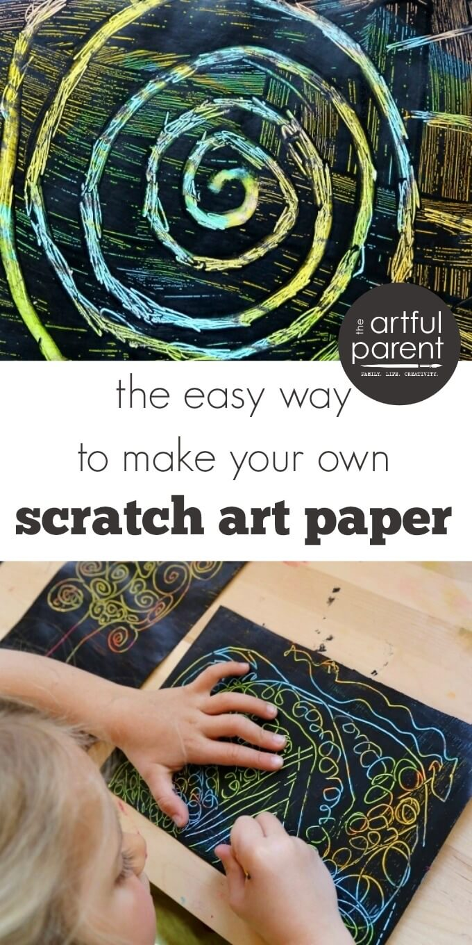 How to Make Easy DIY Scratch Art for Kids