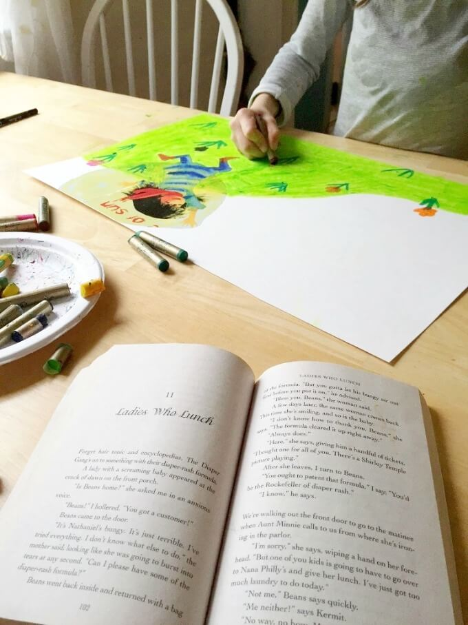 Drawing with Kids while Reading Out Loud
