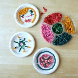 Pasta Art Activities for Kids