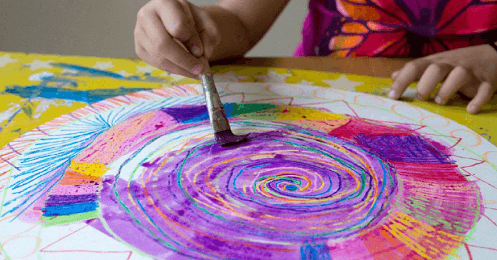 6 Amazing Watercolor Resist Techniques to Try With Kids