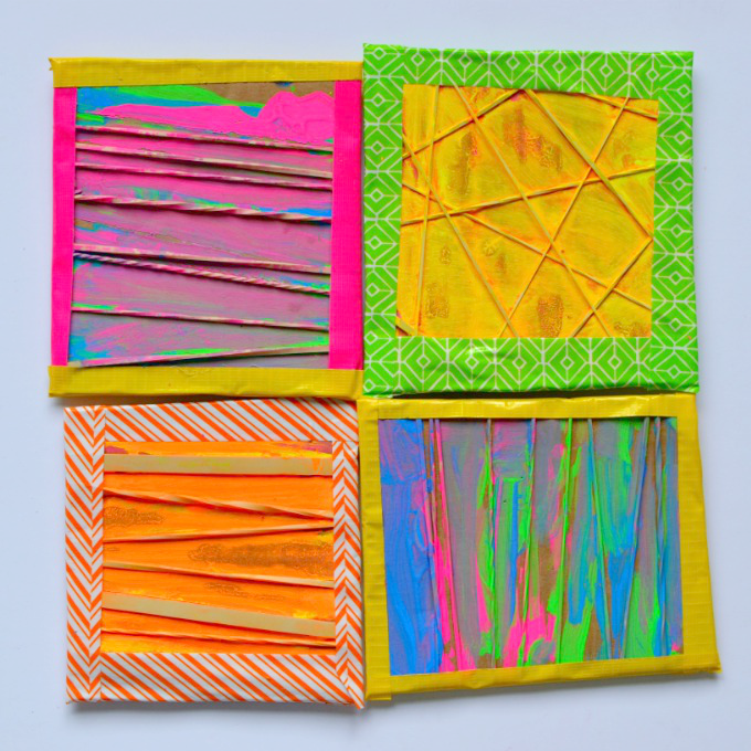 Kids Rubber Band Art