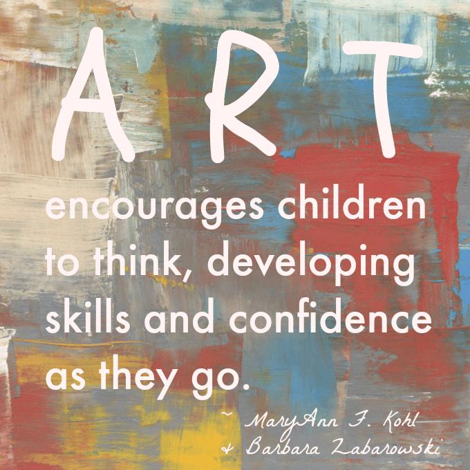 Kids Art Quote