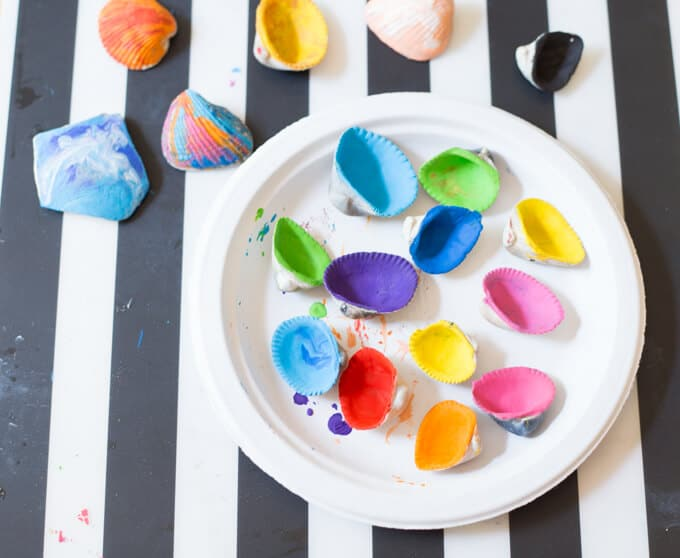 Melted Crayon Shells