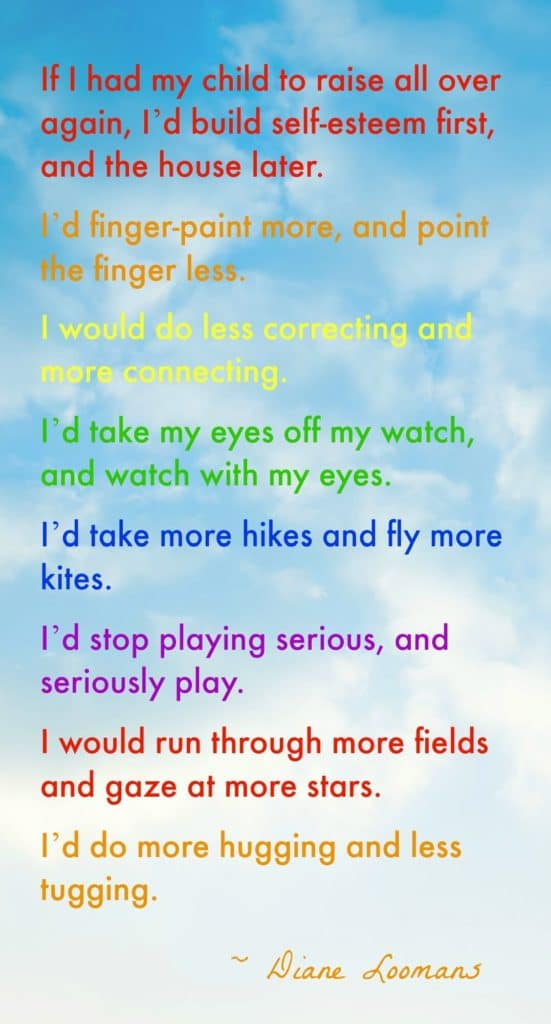 Raising Children Quote Rainbow