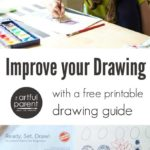 Ready, Set, Draw :: A Free Printable Drawing Guide