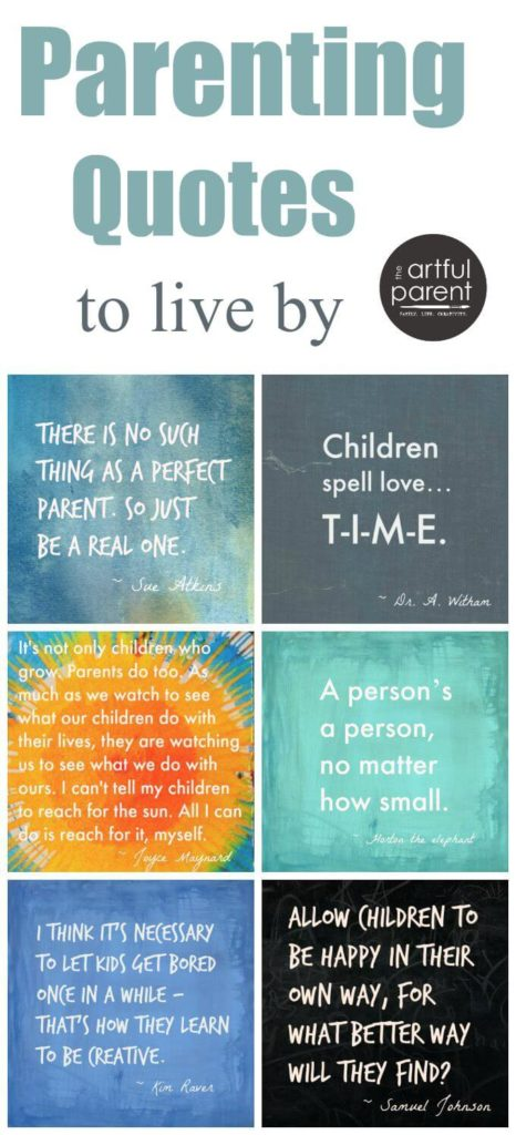 The Best Parenting Quotes for Parents to Live By (Inspiration)