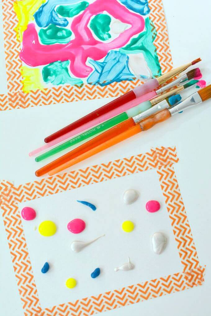 This dot to dot art challenge for kids is a great way to build concentration and fine motor skills while creating a beautiful artwork.