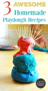 3 Awesome Homemade Playdough Recipes
