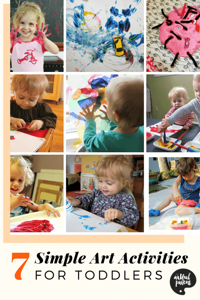 Simple Art Activities for Toddlers