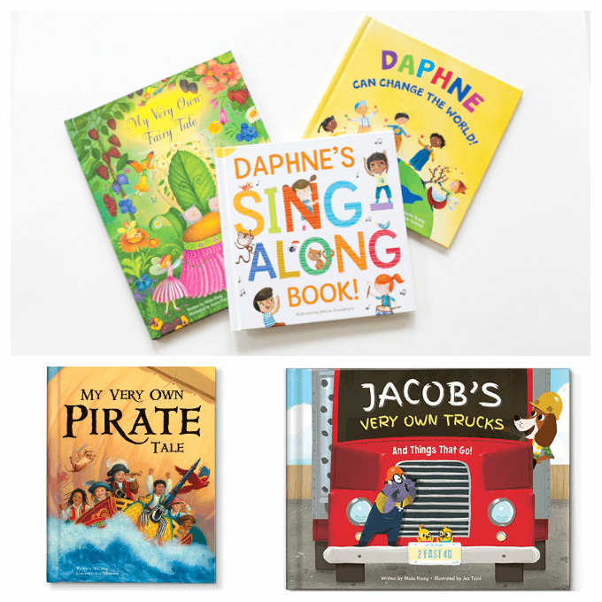 Personalized Story Books for Kids Gifts