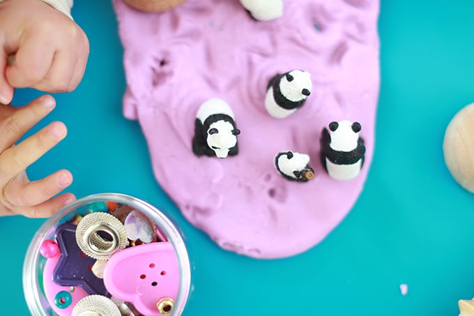 Playdough with poke ins - Rachel Withers