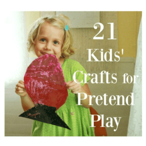 21 Craft Ideas for Kids to Make then Play With
