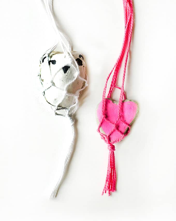 Macrame Rock Necklaces