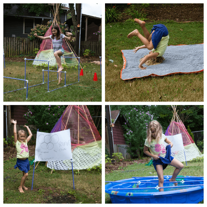 Make Your Own Obstacle Course for Kids with Fort Magic