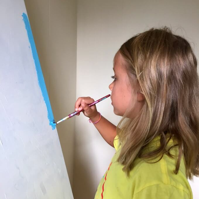 Kids Painting Canvas