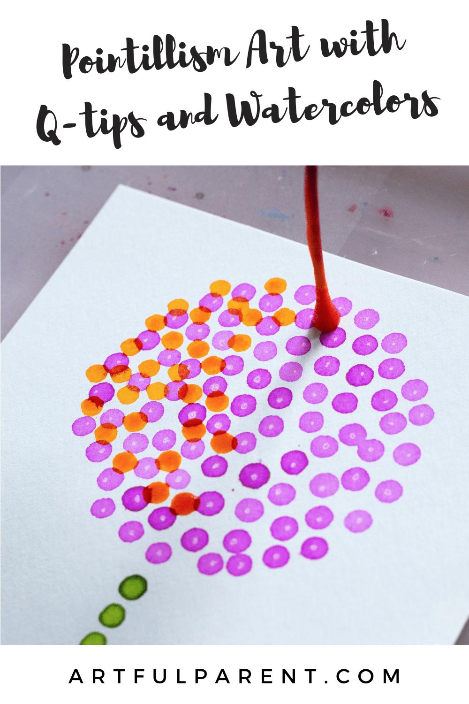 pointillism pinterest