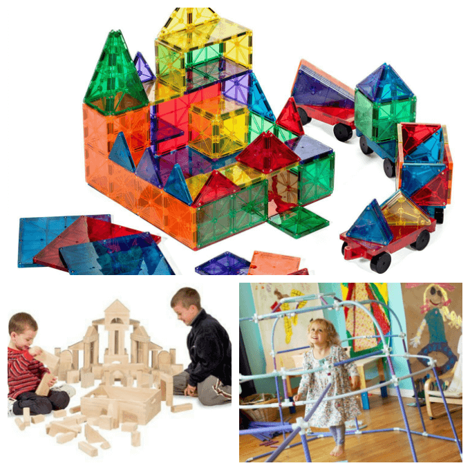 Best Open Ended Toys for Kids - Construction Sets