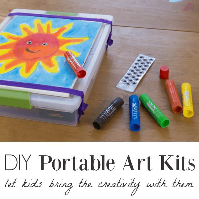DIY Portable Art Kits for Kids