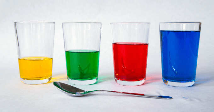 Explore Sound and Color with Water Glasses