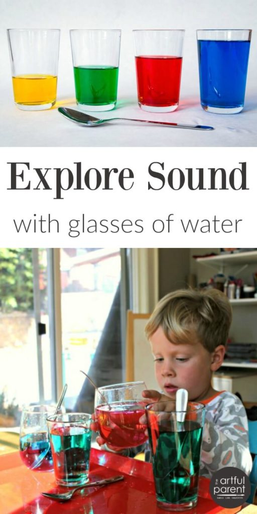 Explore Sound with Water Glasses