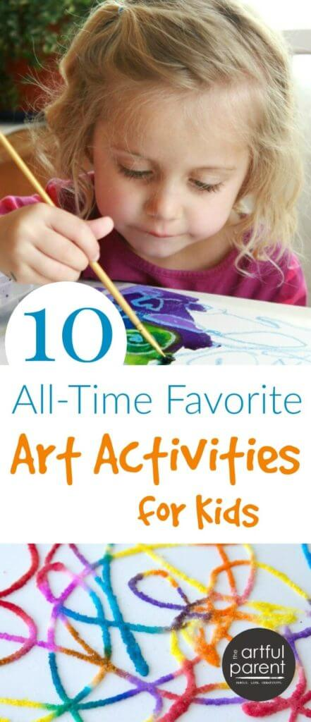 Our Top 10 All-Time Favorite Art Activities for Kids