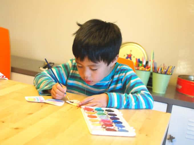 Making Tiny Art with Kids
