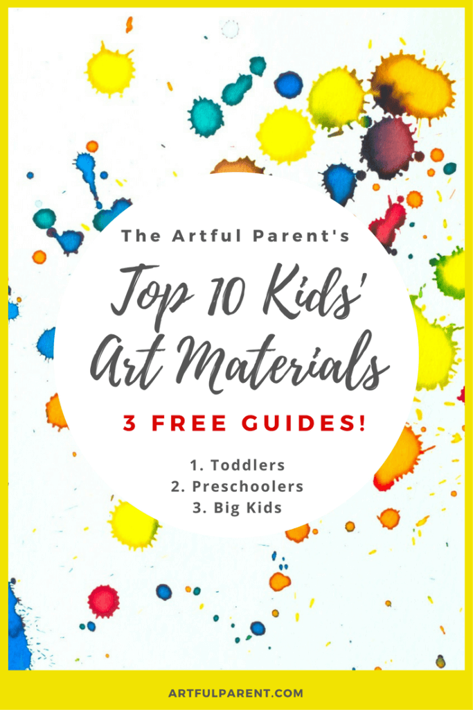 Top 10 Kids Art Material Guides from The Artful Parent