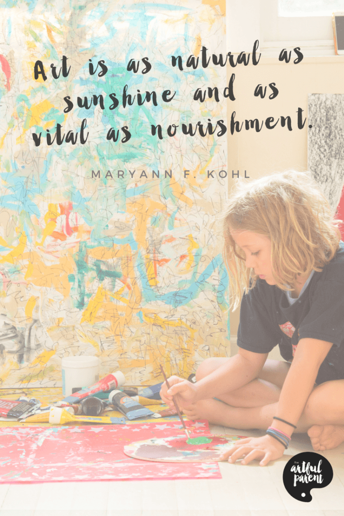 Art Quote by MaryAnn F. Kohl