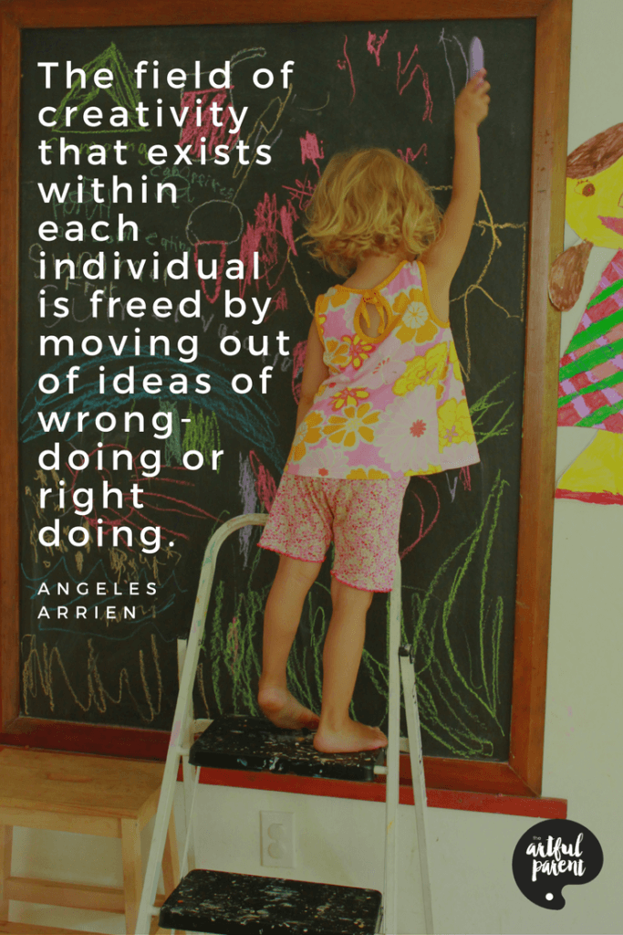 Creativity Quote by Angeles Arrien