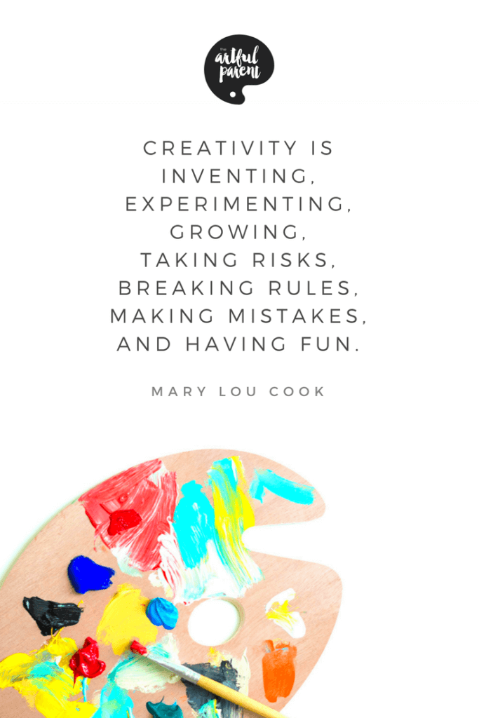 Creativity Quote by Mary Lou Cook