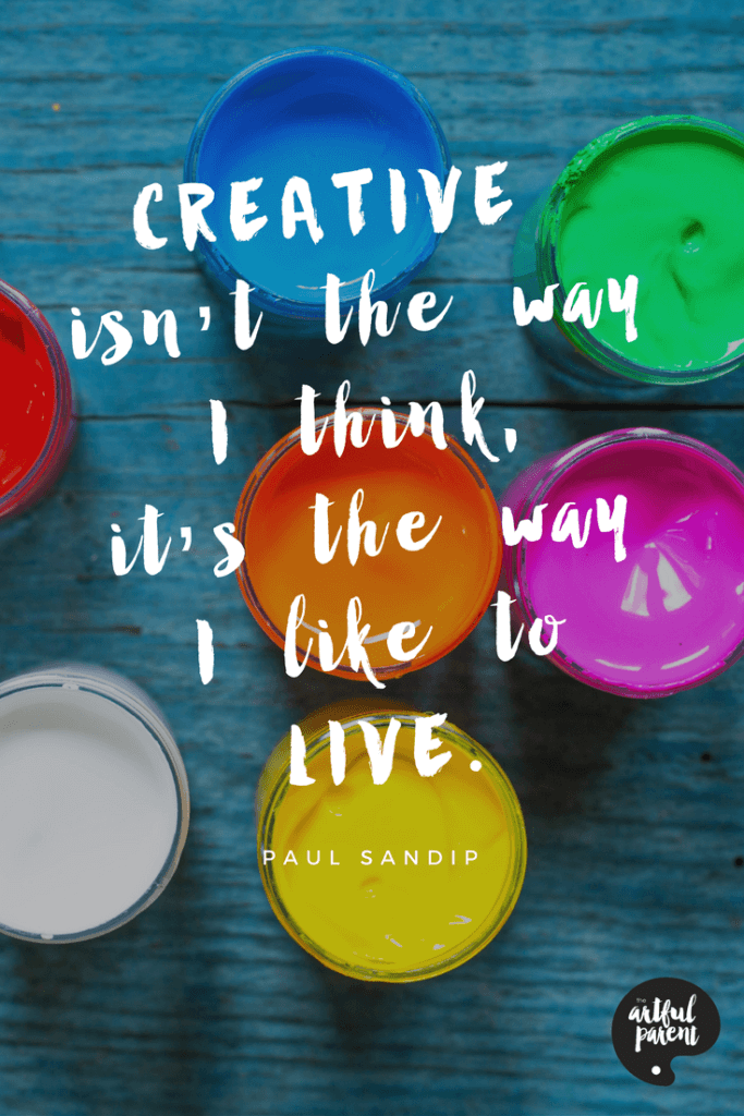 Creativity Quote by Paul Sandip