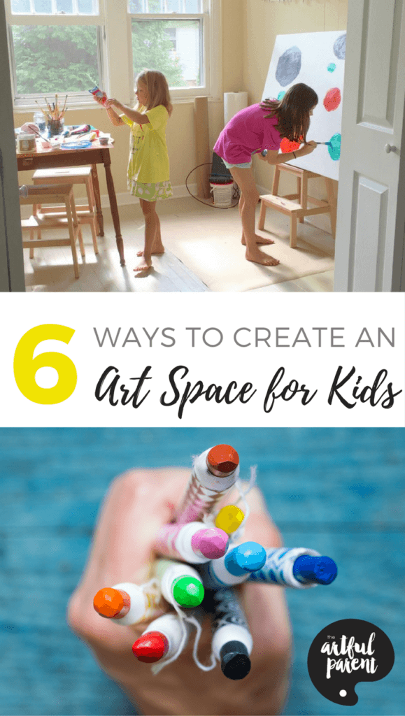 How to Set Up Art Spaces for Kids