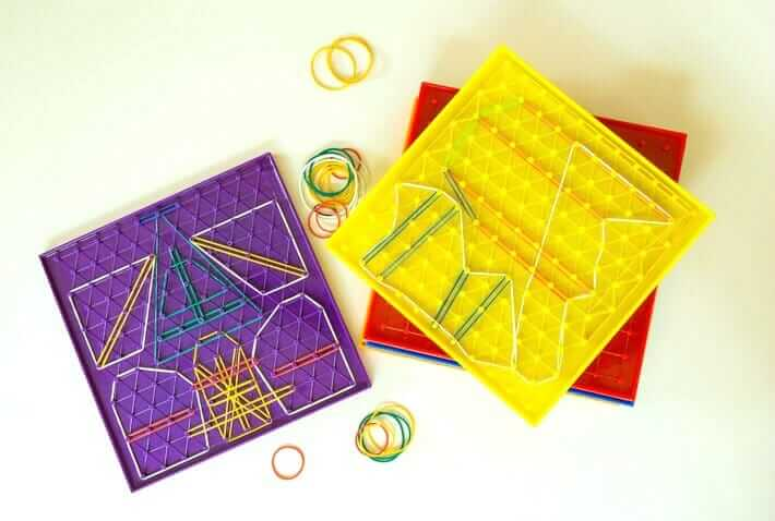 Geoboard Activities - Art and Design