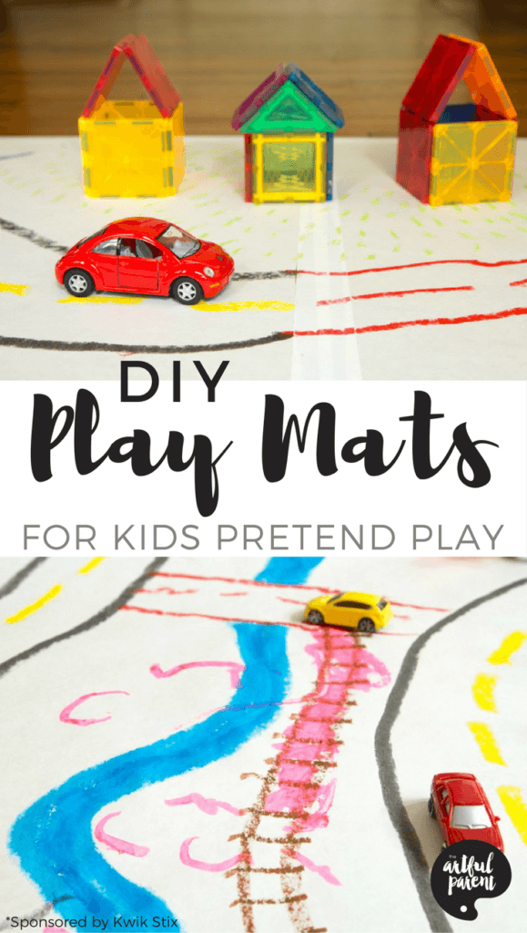 Make Your Own Play Mat for Kids Pretend Play