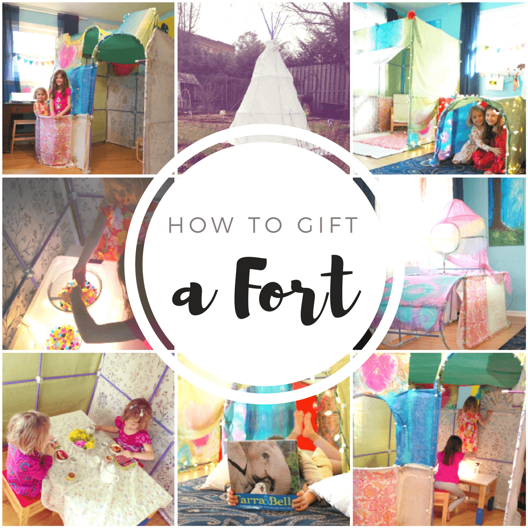 How to Gift a Fort - 3 Fun Gift Presentation Ideas for Fort Magic Kits